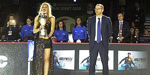 Basket, Ricci: «Grande successo per le Final Eight di Coppa Italia, Pesaro si candida anche per il 2021»