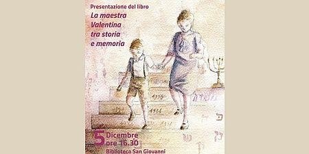 immagine tratta dalla locandina raffigurante bambino e donna che scendono le scale