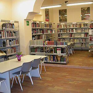 Biblioteca d'Arte_Sala studio