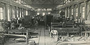 Archivio Macula_fondo Montecatini operari al lavoro