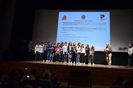 premiazione con Paolo Teobaldi