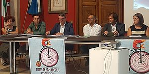 Mengaroni con Isia e Istituto d'Arte di Urbino per logo capitale europea cultura 2033