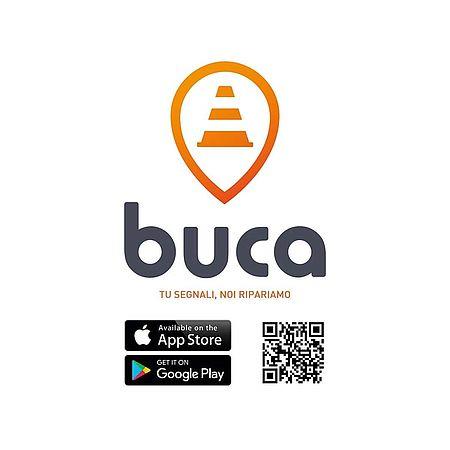 Immagine app buca