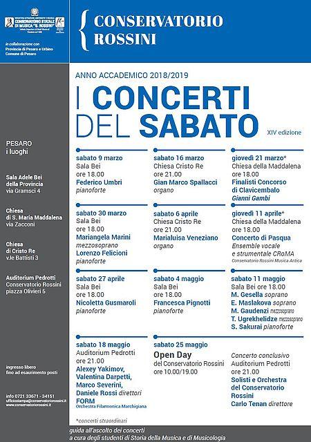 Concerti del sabato 2019_locandina