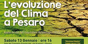 locandina evoluzione clima