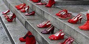 Gradini scarpe con rosse