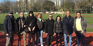 l'olimpionico Damilano a Pesaro