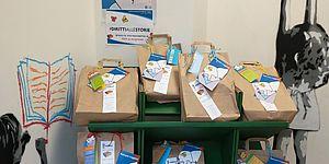 sacchetti di carta per doni
