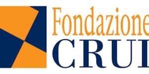 logo arancione e nero della Fondazione Crui