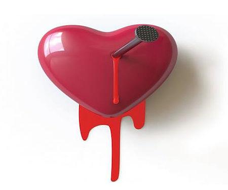 immagine di un cuore che sanguina