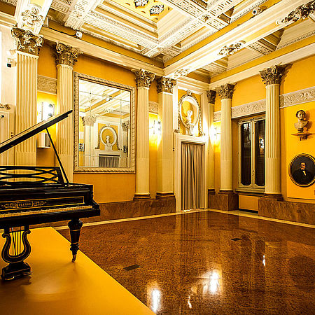 Museo Nazionale Rossini sala Pleyel