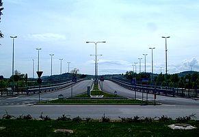 Ingresso Interquartieri ponte Papa Giovanni Paolo II