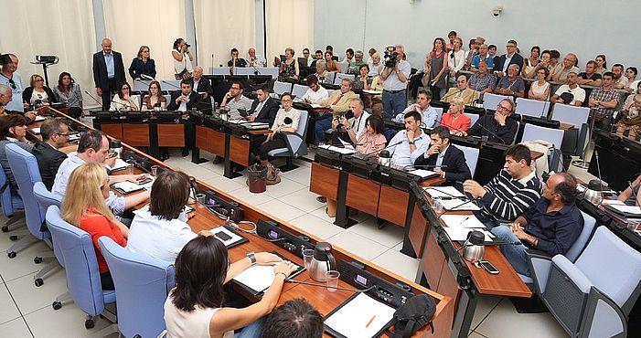 Insediamento del consiglio comunale - 12 giugno 2014