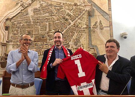 Nuovo presidente Vis Pesaro, Ricci: «Bosco rappresenta una nuova energia. Su di lui ho raccolto ottimi giudizi»