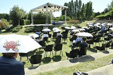Platea al Parco Miralfiore