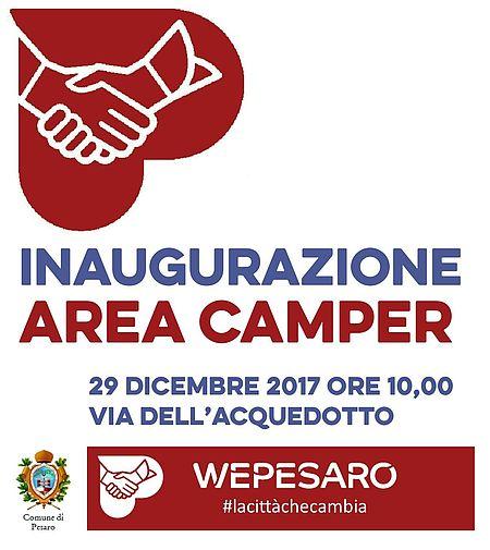 invito inaugurazione area camper