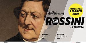 Rossini 150 con scritta proroga