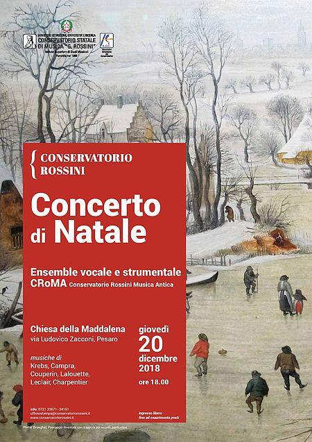 Conservatorio_Concerto di Natale 2018 locandina