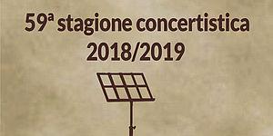 Copertina depliant 59a stagione concertistica