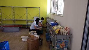 Bibliotecarie al lavoro