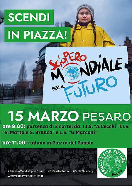 Fridays For Future a Pesaro