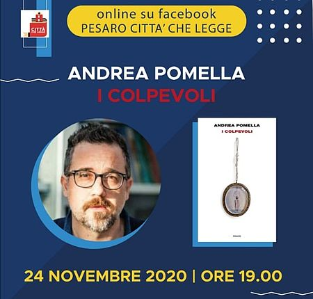 Pesaro Città che Legge incontra Andrea Pomella