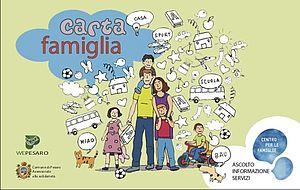 Immagine tessera Carta Famiglia 2020