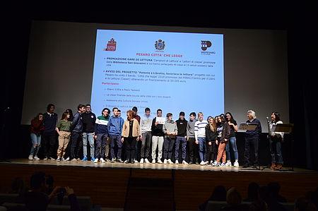 premiazione con Gianni D'Elia