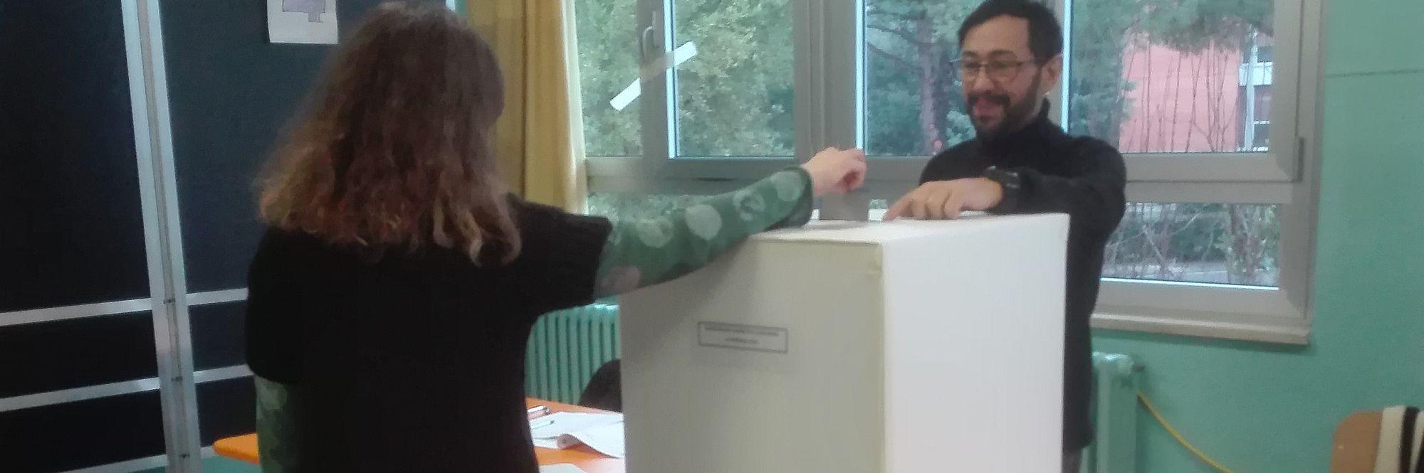 Sezione n. 80 al voto