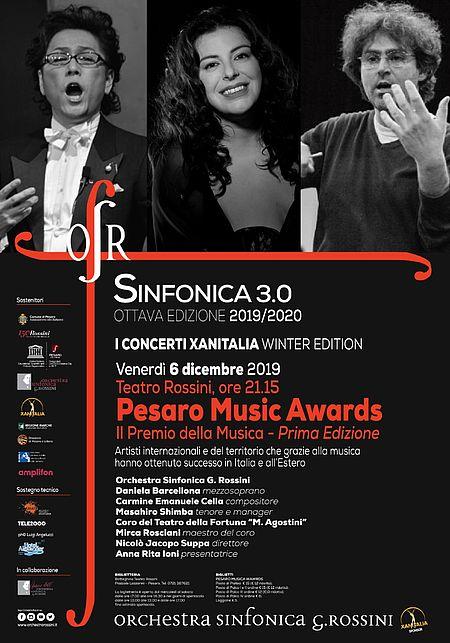 Pesaro Music Awards-Il Premio della Musica 6 dicembre