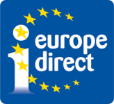 logo Unione Europea con scritta Europe Direct