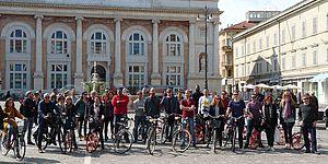 da tutta Europa per visitare la Bicipolitana di Pesaro