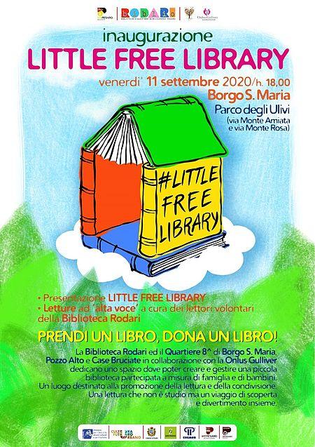 Little Free Library Borgo Santa Maria Parco degli ulivi