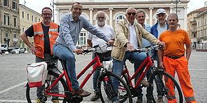 Gruppo Centro operativo sindaco bici elettriche
