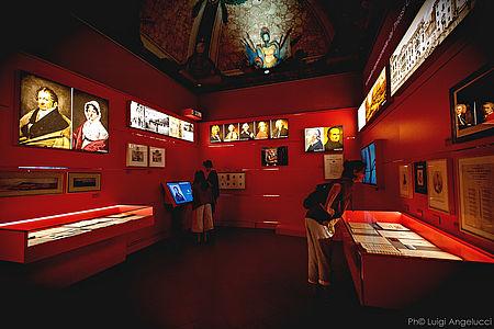 Interno Museo nazionale Rossini