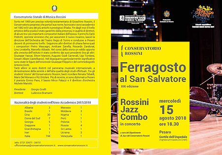 Programma Ferragosto San Salvatore 2018