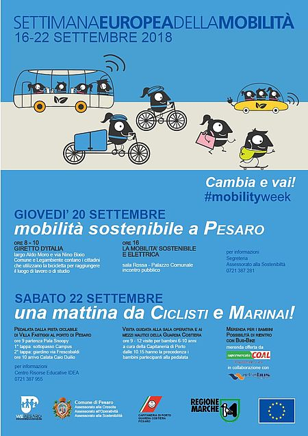 Settimana mobilità a Pesaro