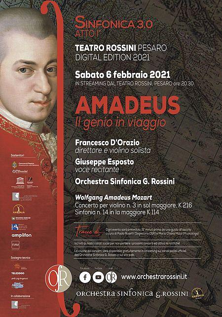 AMADEUS Il genio in viaggio / Sinfonica 3.0 manifesto