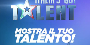 logo Italia's Got Talent con sfondo blu
