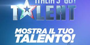 logo Italia's Got Talent con sfondo blu