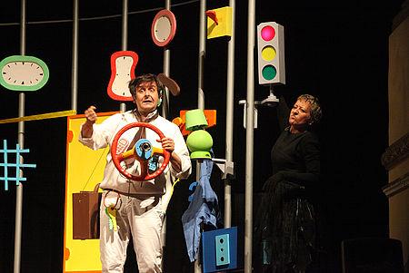 Scena tratta dallo spettacolo Piter Pan