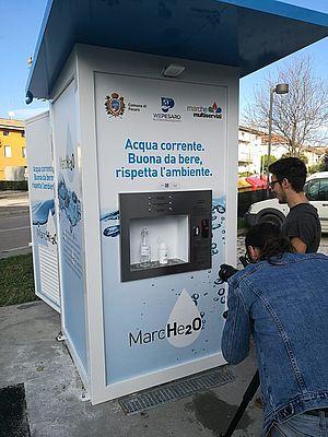 Foto casette dell'acqua