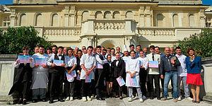 Rossini grand gourmet:sfidanti, giuria, docenti