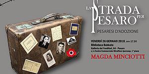 Cartolina La strada per Pesaro