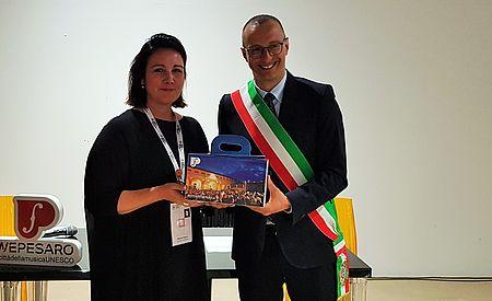 Matteo Ricci accoglie le città della musica Unesco