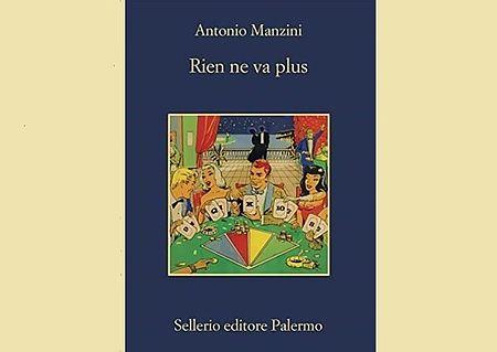 copertina del libro 'Rien ne va plus' raffigurante dei giocatori di carte