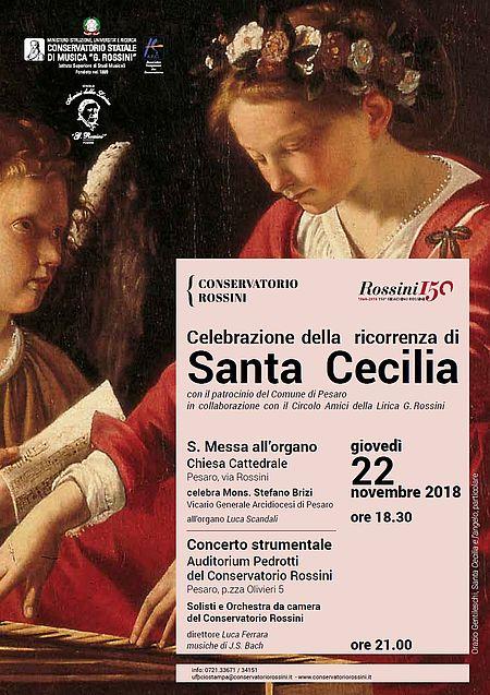 Locandina Giornata per Santa Cecilia