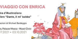 """Michael Bardeggia """"In viaggio con Enrica"""" locandina"""