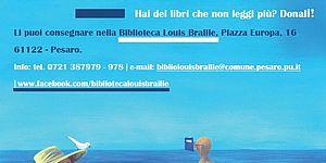 La biblioteca fuori di sé...in spiaggia_2019