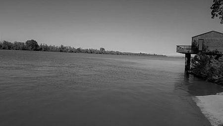 Fotografia del fiume Po